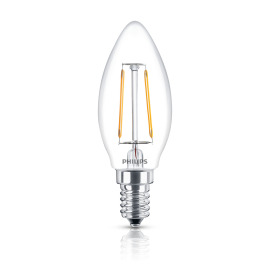 Philips Classic LEDcandle 2.3-25W E14 827 B35 CL FIL ND