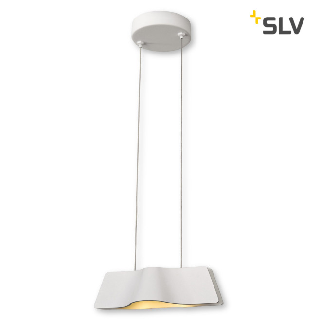 SLV WAVE PENDANT pendant light white