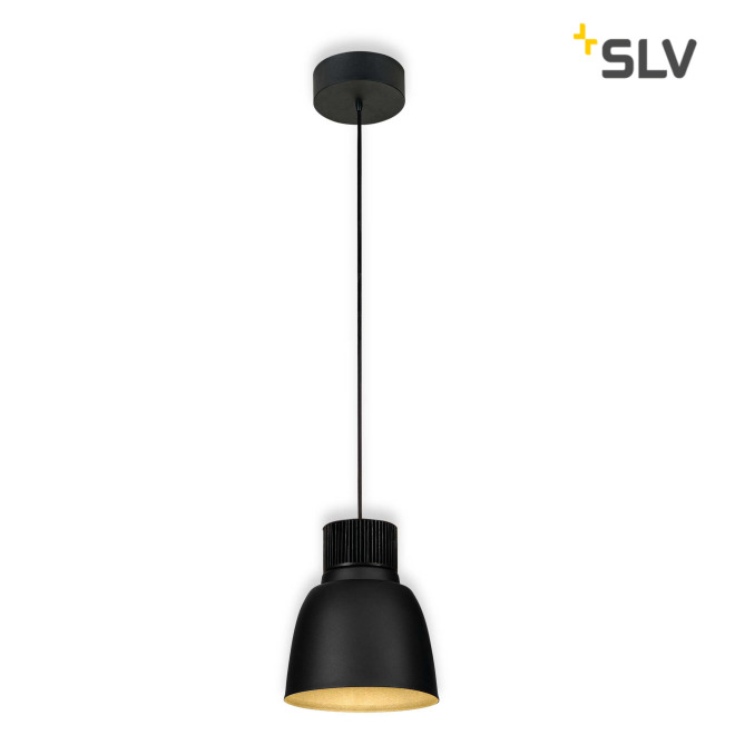 SLV PENTULI LED pendant light 24 black