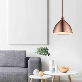 Globo pendant light Jackson I copper