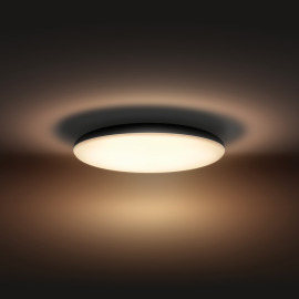 Philips Hue White Ambiance Cher LED Ceiling Light black, 3000lm