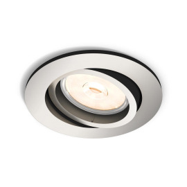 Philips myLiving LED-Downlight Donegal rund silber