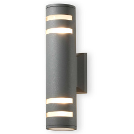 ESTO outdoor light ESTERNA silver, round