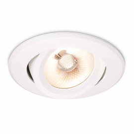 Philips CoreLine Downlight 16W, adjustable electronic ballast, DimTone, aluminium
