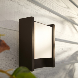 Philips Hue White Fuzo LED Wall Light long, black