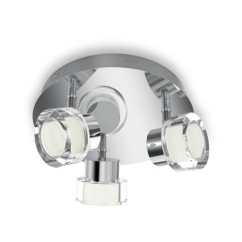 Philips myBathroom LED-Spot Resort 3-flammig chrom schwenkbar