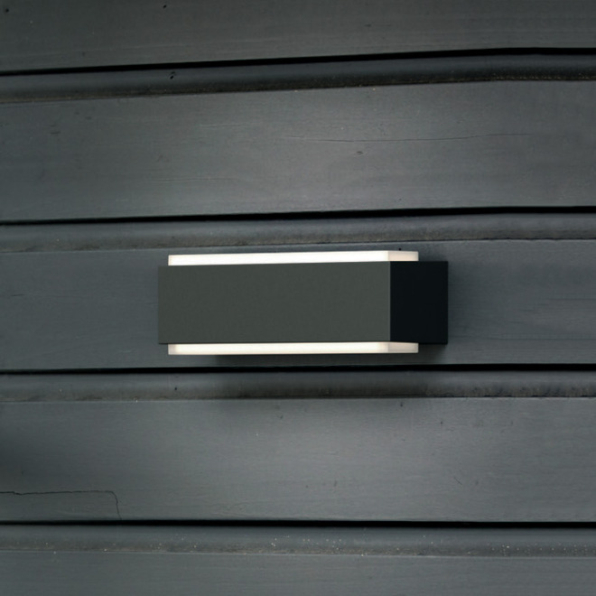 Philips myGarden LED Wall Light Stratosphere, anthracite