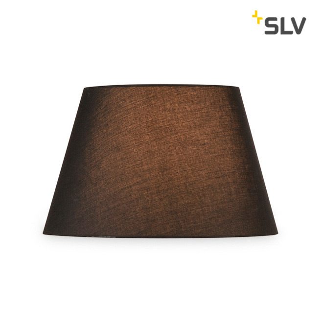 SLV FENDA MIX&MATCH Lampshade, Conical, D/H 45.5/28 cm, black