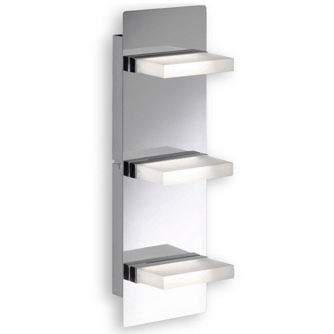 Fischer & Honsel wall light Sporto 3-flame