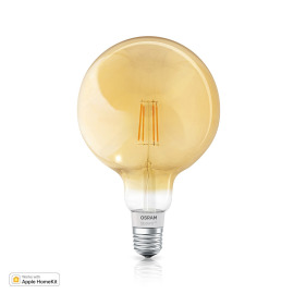 Osram SMART+ APPLE HOME KIT FIL GLOBE60 E27 DIM Amber Coating