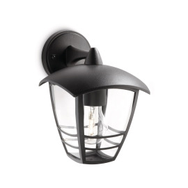 Philips myGarden Wall Light Creek, black, hanging
