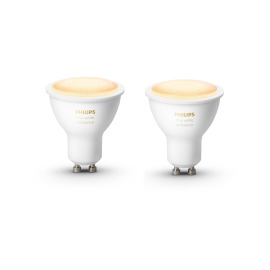 Philips Hue White Ambiance LED Spots GU10 Double Pack