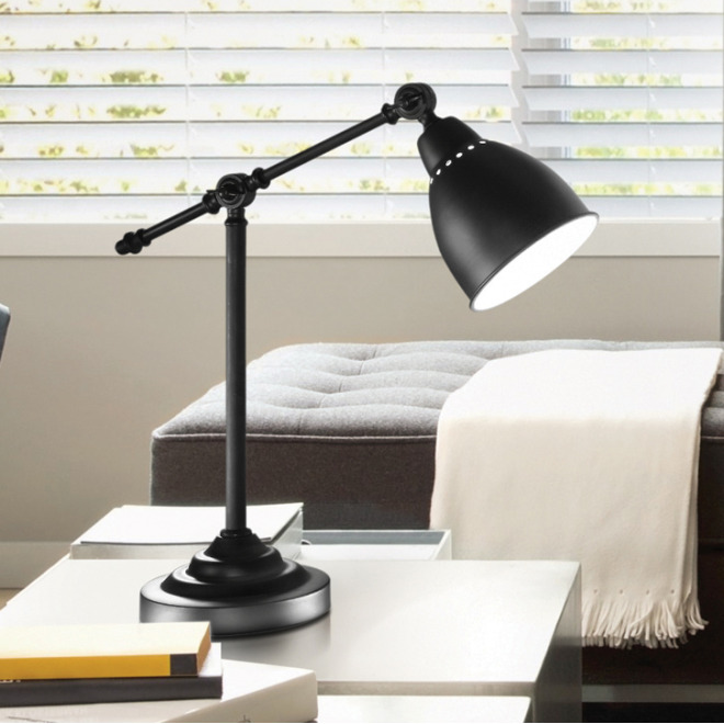 Ideal Lux NEWTON TL1 NERO lampe de table