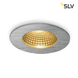 SLV PATTA-I Downlight rond alu-brushed