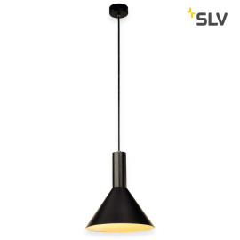 SLV PHELIA Pendant Light 1, black