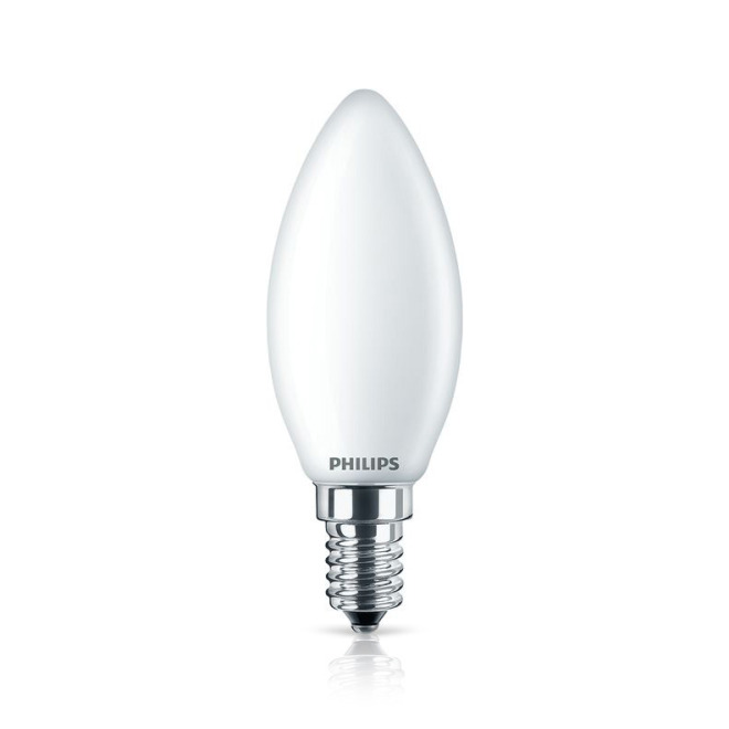 Philips Classic LEDcandle 6,5-60W E14 827 B35 matt