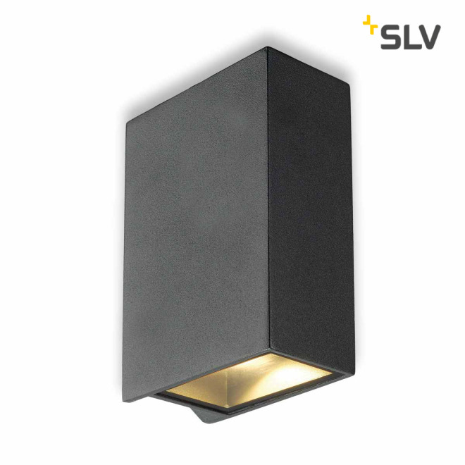SLV QUAD 2 XL lampe murale anthracide