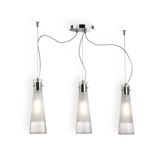 Ideal Lux KUKY CLEAR SP3 lampe suspendue