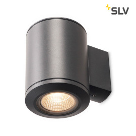 SLV Pole Parc LED outdoor wall light anthracite