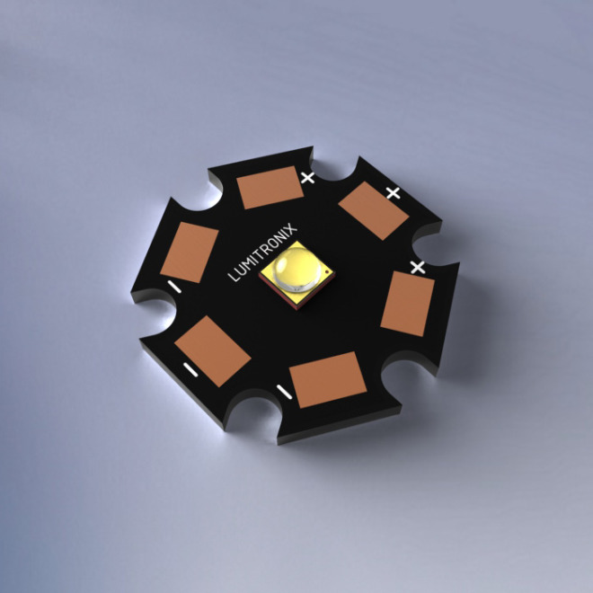 Cree XP-G3 S5 SMD-LED, with PCB (Star), 172lm, 6000K