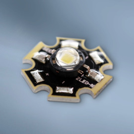 Seoul Z-LED P4 SMD-LED with PCB (Star), 53lm, 3000K, CRI 90