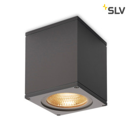 SLV Big Theo Outdoor LED-Wandleuchte anthrazit