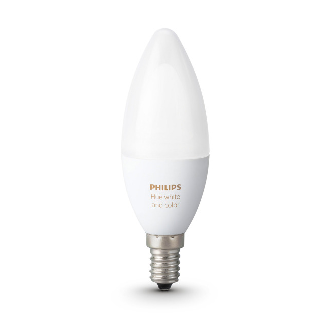 Philips Hue LED E14 White and Color Ambiance RGBW 6.5W