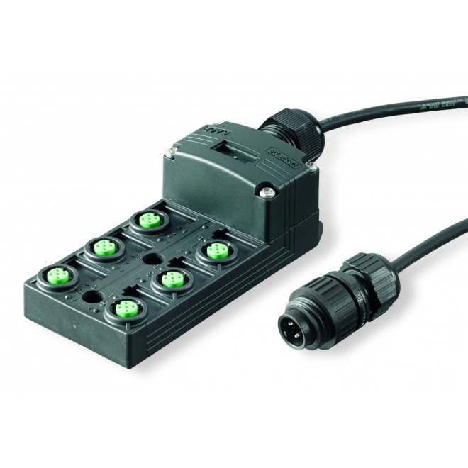 dot-spot distribution system, 12V, 6-way