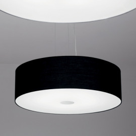 Ideal Lux WOODY SP4 NERO pendant light