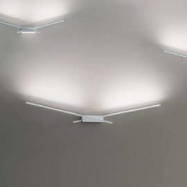 Linea LED Wall Light Wings 19W white