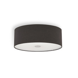 Ideal Lux WOODY PL5 NERO ceiling light