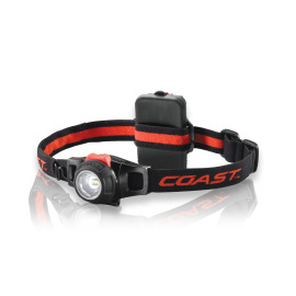 Coast HL7 focusable LED headlamp, tiltable lamp head