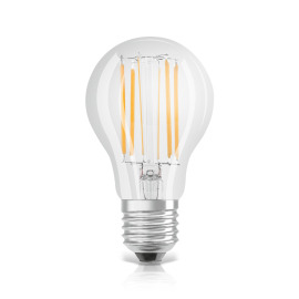 Osram LED STAR+ CLA 75 FILAMENT klar 8W E27 4000K + 2700K