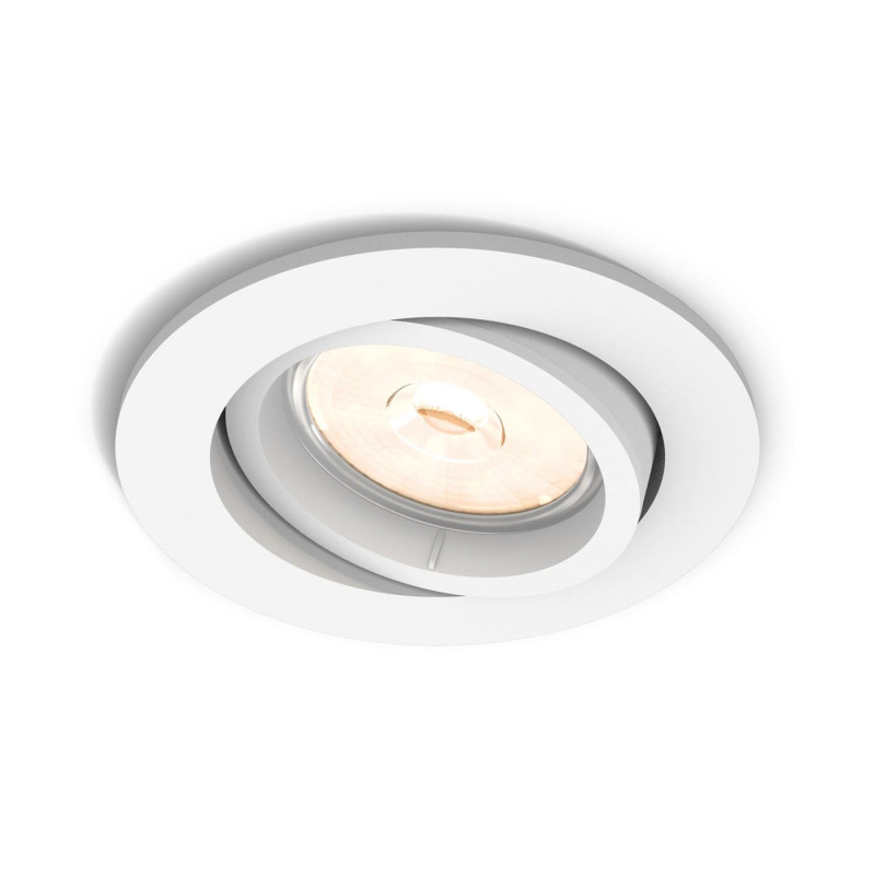 Philips Myliving Led Spot Donegal Round White Ceiling Lights Luminaires The