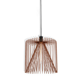 Wever & Ducré Pendant Light Wiro 3.8 rust