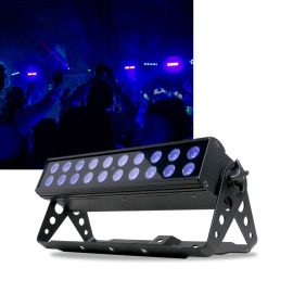 ADJ LED Projecteur UV BAR20 IR
