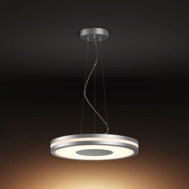 Philips Hue Being LED Pendant Light silver