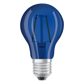 Osram LED SUPERSTAR CLA 15 DécorBlue non-dim  2,5W 827 E27