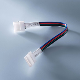 Connector with cable for RGB LumiFlex LED strip, 15cm