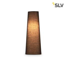 SLV Fenda Lampshade, Conical, D/H 15/40 cm, black