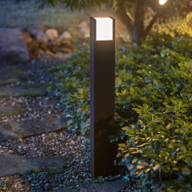 Philips Hue White Fuzo LED Path Light, black