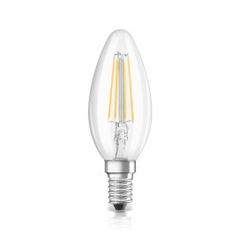 Osram LED SUPERSTAR FILAMENT klar DIM CLB 40 5W 840 E14