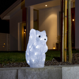 Konstsmide LED Squirrel, 32 Cold White LEDs