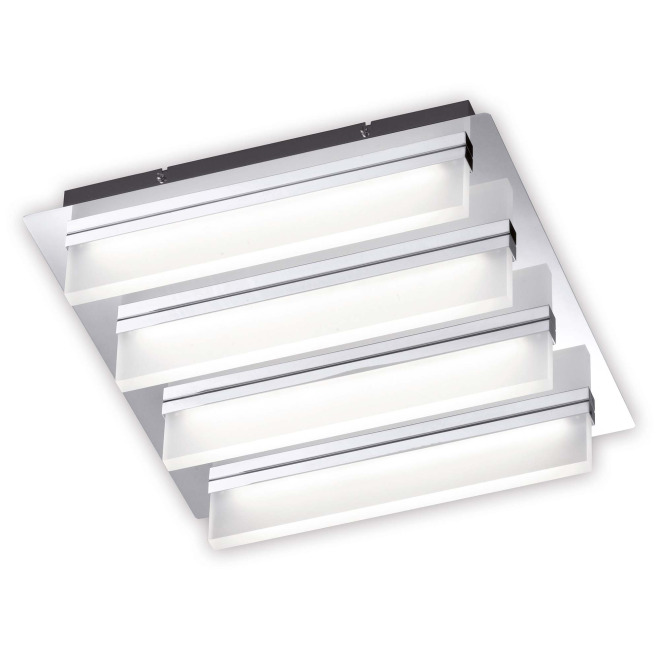 Fischer & Honsel ceiling light Sporto, 4-flame