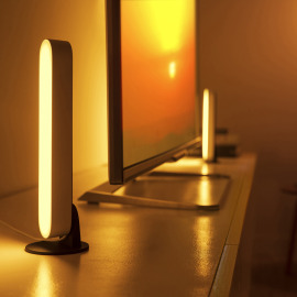Philips Hue Play LED-Tischleuchte, White and Color Ambience, weiß, Erweiterung