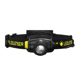 Ledlenser H5R Work LED Headlamp, Dimmable, Rechargeable, IP67