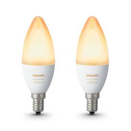 Philips Hue White Ambiance LED E14 set de 2 6W