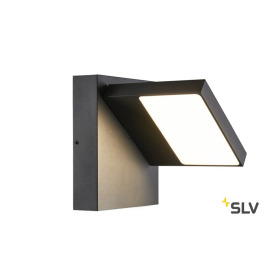 SLV ABRIDOR WL 3000/4000K IP55 Outdoor LED-Wandleuchte anthrazit