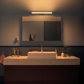 Philips Hue White Ambiance Adore LED-Wandleuchte 1750lm chrom, Dimmschalter