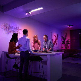 Philips Hue White & Color Ambiance Centris LED Ceiling Light with 3 Spots white, 3650lm
